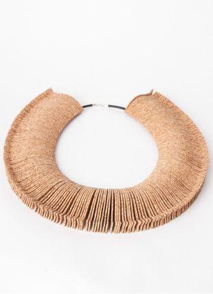 10 Quarteirões Cork Necklace . Portuguese Independent Brand of Contemporary Jewellery