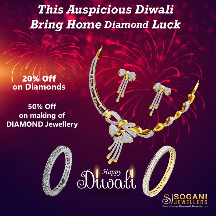 On The Auspicious Occasion Of Dhanteras Bring Home Good Luck...!!!! #Sogani_Jewellers_Diwali_Bumper_Offer....!!!!!!! #Gold #Jewellery making starting from Rs.149/- only. 50% Off on making of #Diamond #Jewellery. 20% Off on #Diamonds. #Assured #Gift on #Every #Shopping. #Visit Our #Store #Sogani #Jewellers  C-19, Vaishali Marg, Vaishali Nagar Jaipur. Call- +919799809156, 0141-4024656. #Shop #Online www.soganijewellers4u.com