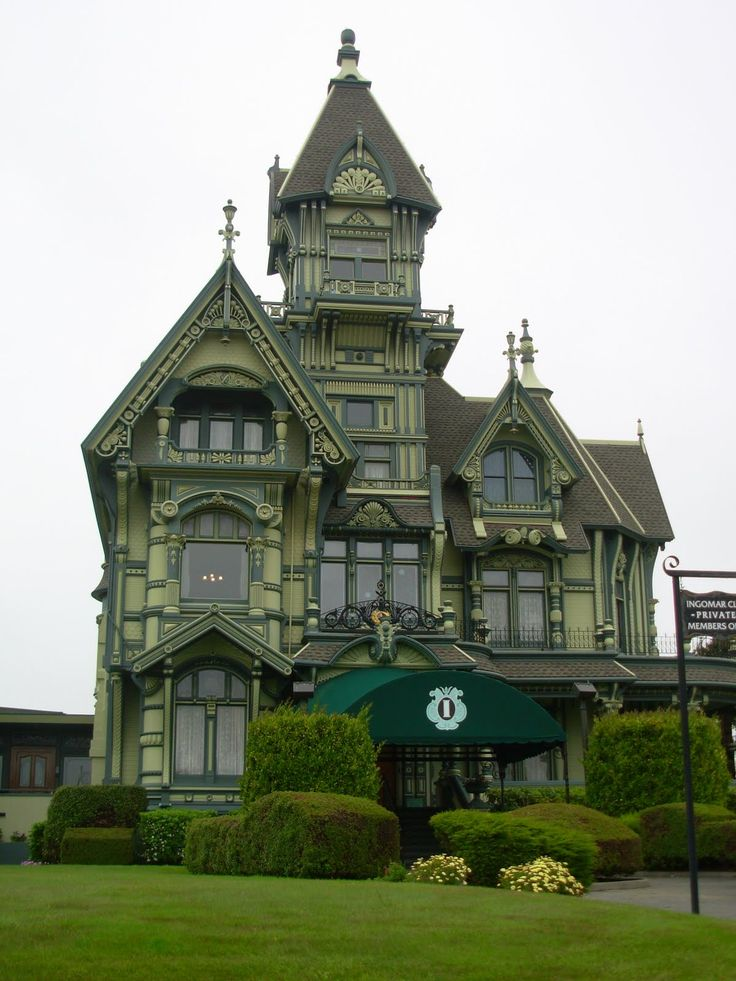 Victorian Architecture - love the color!