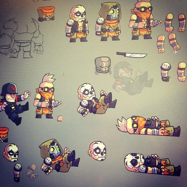 #whatsonmyscreen #gamedev #BulletAge #cintiq #cintiq