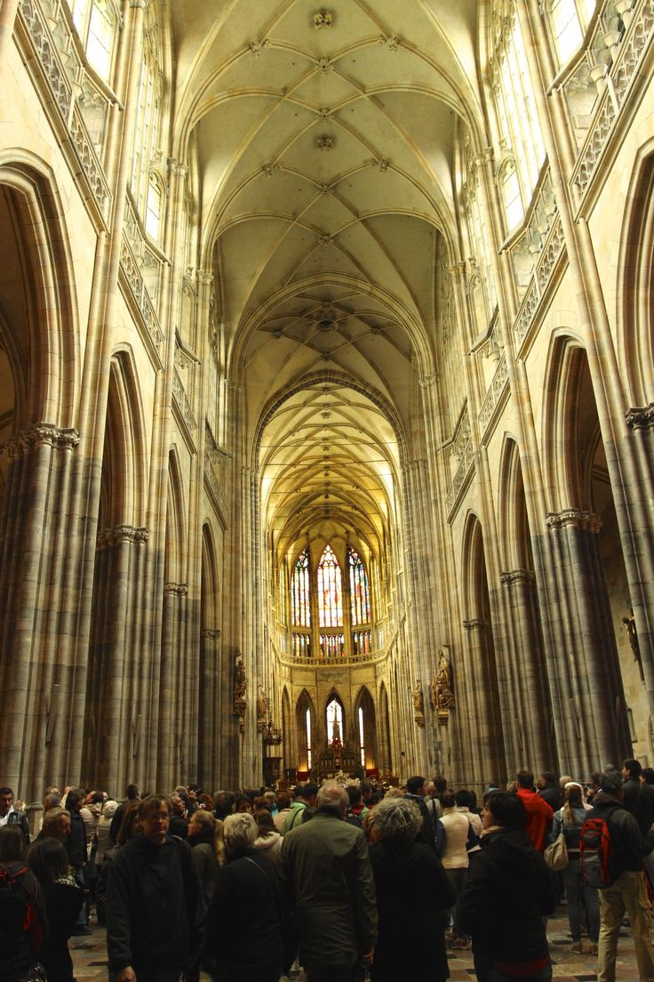 The magificient St. Vitus cathedral - May 16 2014