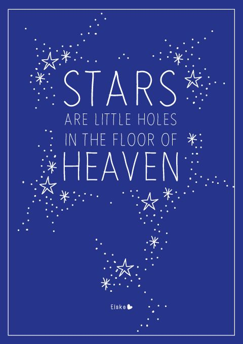 the floor of heaven                                                                                                                                                      More