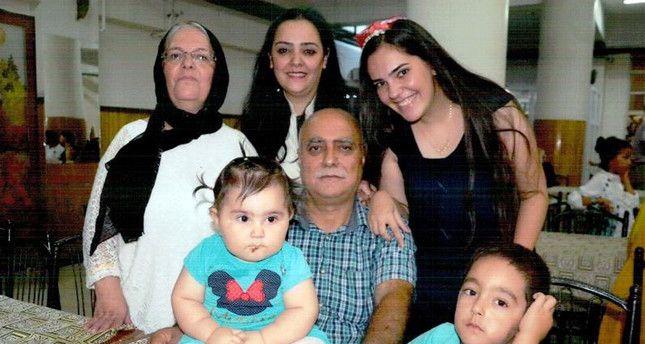 Family of 5 killed by PKK terror attack in Turkey's southeast. Mother Behiye Yıldırım (on the left), her daughters Demet Yıldırım Aydın and Derya Yıldırım and her grandchildren have been killed by PKK's bloody terror attack in Sur. Father Necati Yıldırım is currently hospitalized (DHA Photo)