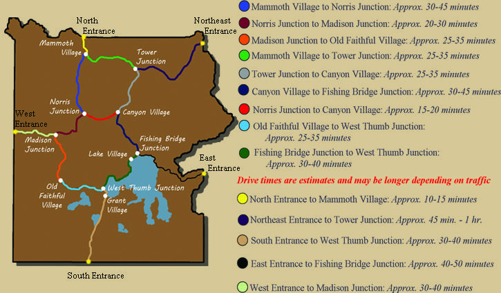 Your Yellowstone Vacation - Your Yellowstone Vacation (2.5-3.0 hour drive through Yellowstone)