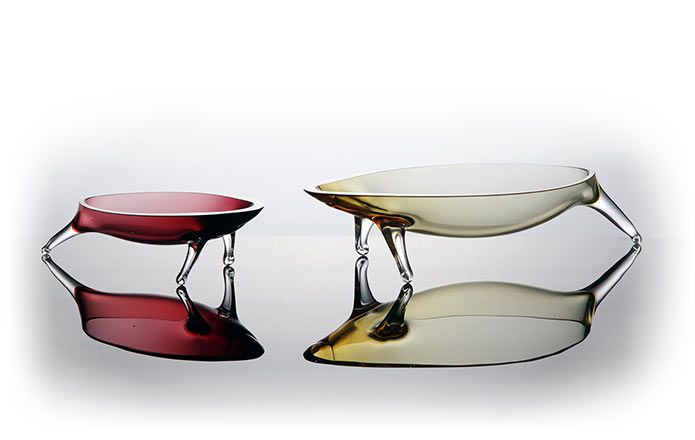 Raya glass bowl - original from Rostislav Materka