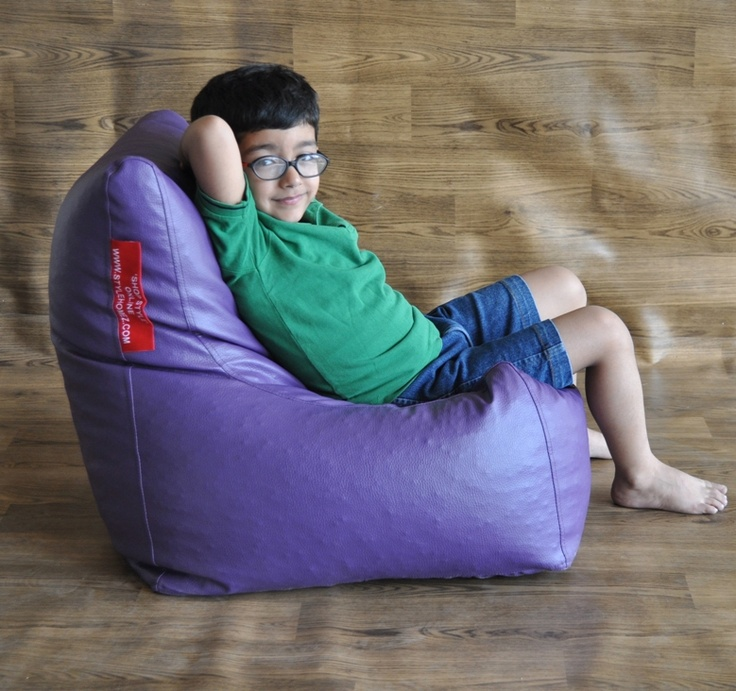 Bean Bag Kids Chair This Is A Fantastic In Leatherette The Perfect Size And Shape For Your Little Ones Between 2 8 Years Old