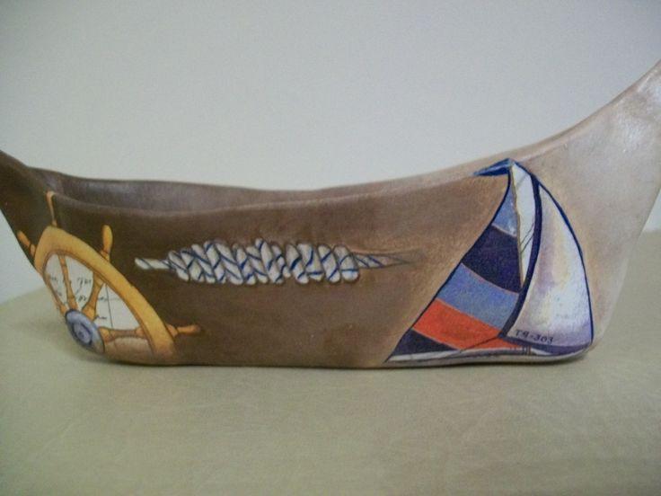 ceramic boat by evagant