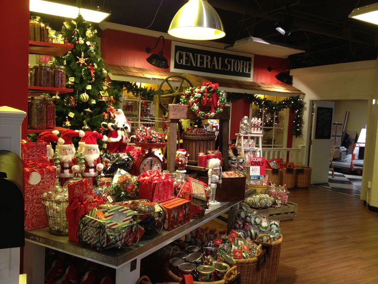 General Store a fav at Christmas Time!