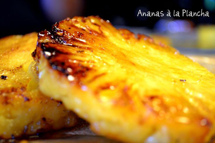 Ananas à la Plancha -By Kaderick en Kuizinn