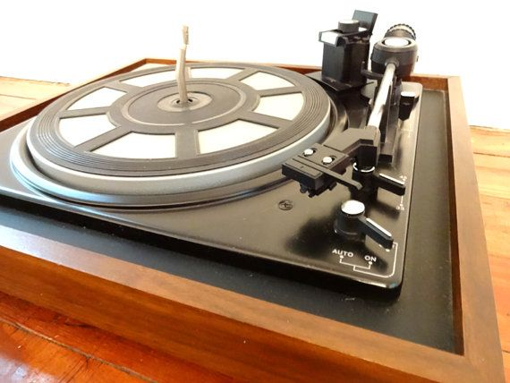 Rare Turntable Record Player Jc Penney Automatic Record