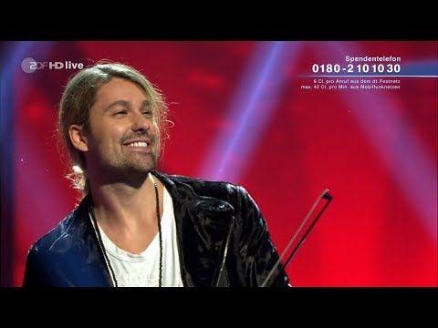 "David Garrett - ""In the air tonight"" ZDF tv show ""Willkommen bei Carmen Nebel"" (30-9-2017) - YouTube"