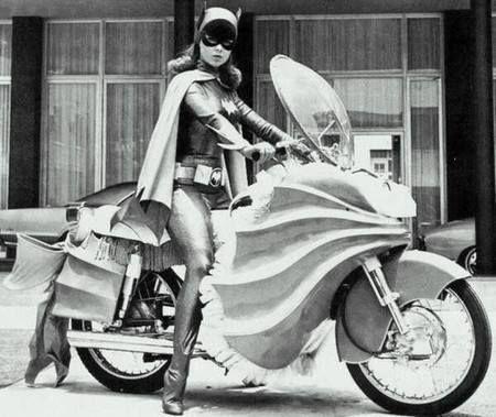 Superheroes in town.