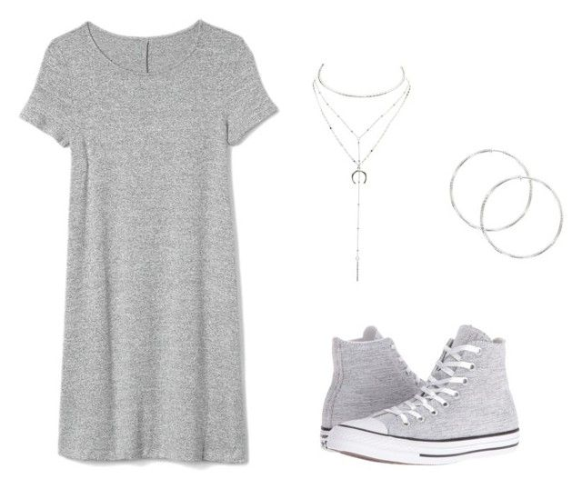 """Teen Wolf Amelia - A Promise to the Dead"" by jemjem21 on Polyvore featuring Converse, Gap and Charlotte Russe"