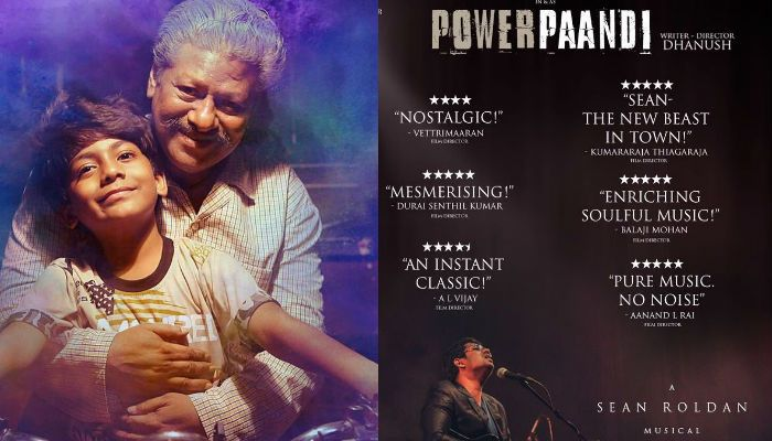 Dhanush today launched the audio of his much anticipated directorial debut Power Paandi, which has Sean Roladan music. It has a total of six songs.