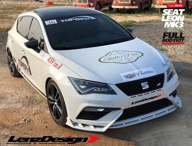 Seat Leon Mk3 5f Lenzdesign Bodykit Spoilers 2012 2013 2014 2015 2016 2017 2018 2019 Seat Leon Seating Leon