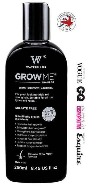 Hair Growth Shampoo Bottle