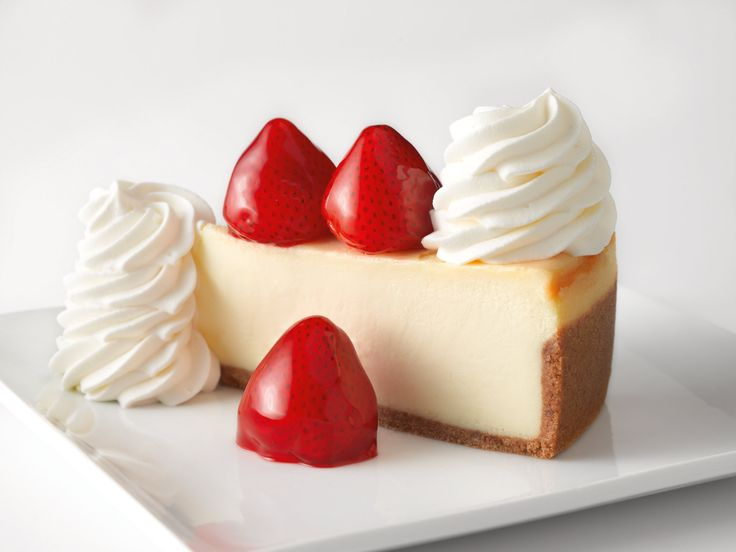Cheese Cake Factory Desert Menu