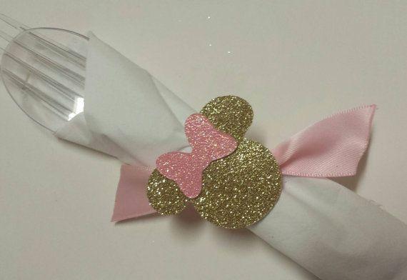 Fiesta de cumpleaños de oro de Minnie Pink por KhloesKustomKreation