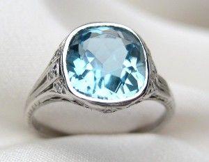 1000 Images About Aquamarine Engagement Ring On Pinterest