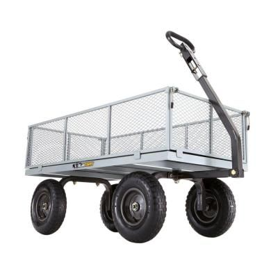 Gorilla Carts 1,000 lb. Heavy-Duty Steel Utility Cart
