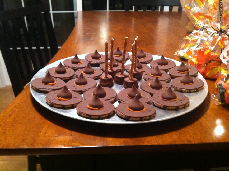 I made these for my classroom's Halloween party :)
