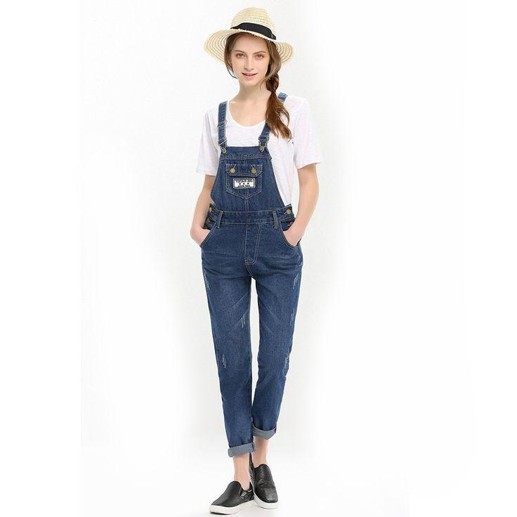 die 25 besten ideen zu jeans overall damen auf pinterest. Black Bedroom Furniture Sets. Home Design Ideas