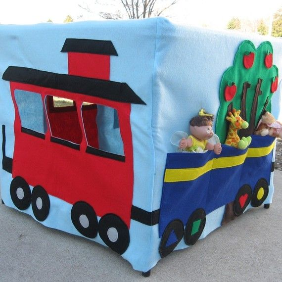 Card Table Playhouse!  OMT!  These are so cute but too expensive to not make myself!  :)