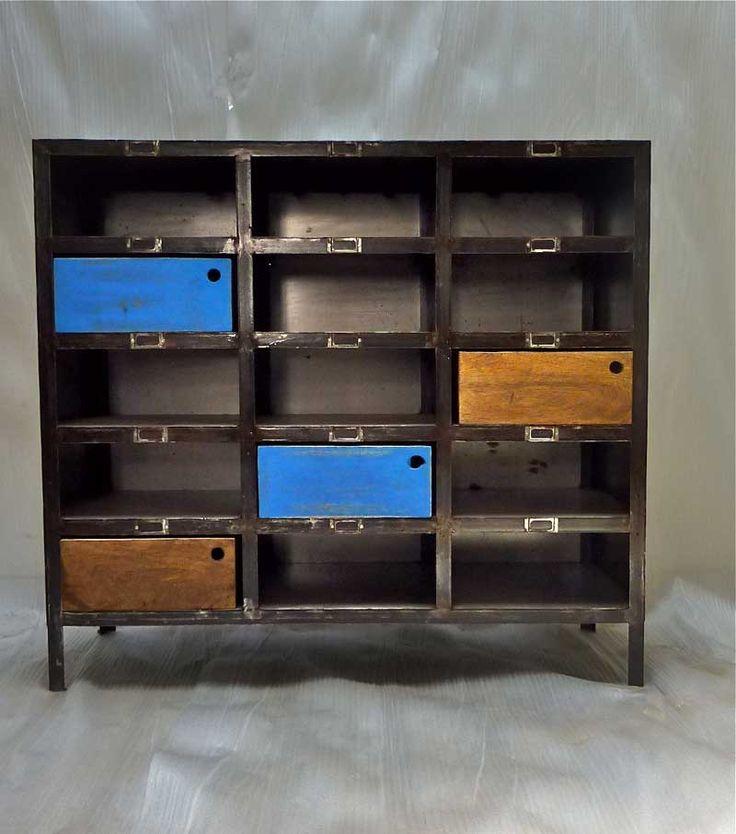 Industriell møbelproduksjon Brooklin 15 skap - Midiune - industrielle møbler og vintage - Valg