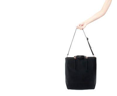 ZARA - WOMAN - BASIC SHOPPING BAG