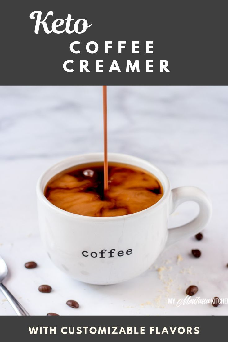 F You Are Missing Coffee Creamer On Your Keto Diet I Have Good News For You This Sugar Free Coff Keto Coffee Creamer Coffee Creamer Bulletproof Coffee Recipe