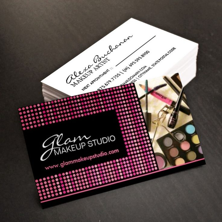 92 best makeup artist business cards images on pinterest makeup fully customizable makeup artist business cards created by colourful designs inc reheart Gallery