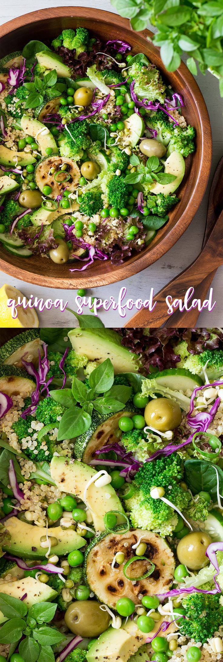 4276 best super healthy salads images on pinterest clean eating quinoa superfood salad vegan luncheshealthy vegetarian lunch ideassalad forumfinder Gallery