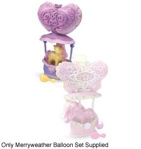 Hasbro My Little Pony Merriweather Balloon  Find Merriweather soaring over the town in her very own balloon Includes music - requires 2 x AAA ba  http://www.comparestoreprices.co.uk/dolls/hasbro-my-little-pony-merriweather-balloon.asp