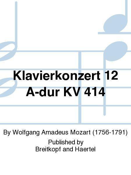 Klavierkonzert 12 A-dur KV 414