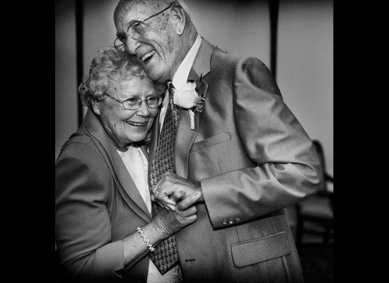 Pay tribute to the longest-married couple at your wedding with a special dance — play their first dance song with a dedication to the lovebirds