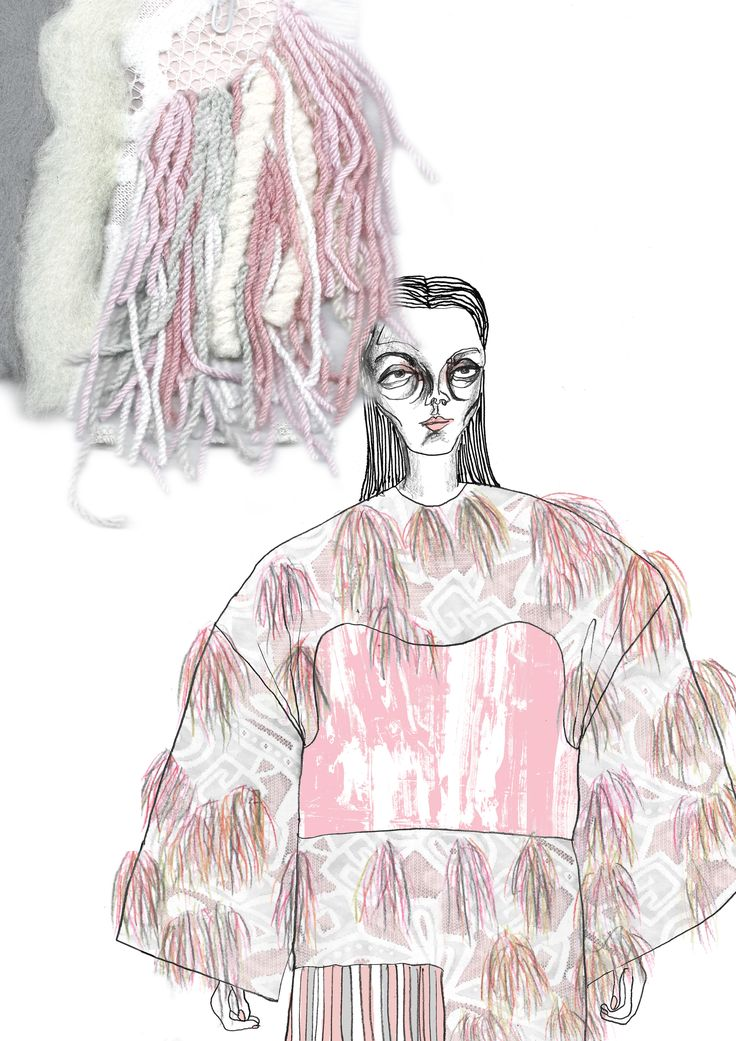 Fashion Sketchbook - fashion illustration & textile samples; fashion portfolio // Giryung Kim