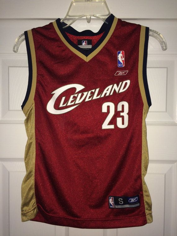Sale Vintage Reebok CLEVELAND Basketball Jersey NBA by casualisme
