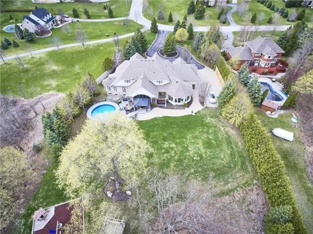 This Executive Estate Home Is Located In A Private Enclave In The Rolling Hills Of The Oakridge Moraine Only Minutes From Brooklin