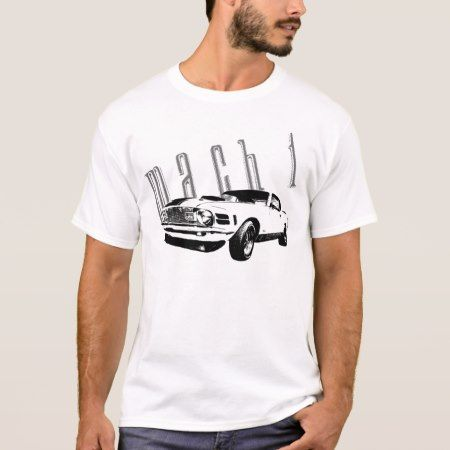 70 Mach 1 Mustang T-Shirt - tap to personalize and get yours