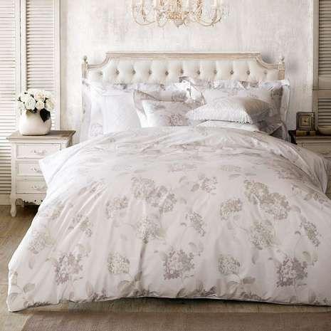 Holly Willoughby Hydrangea White Duvet Cover | Dunelm