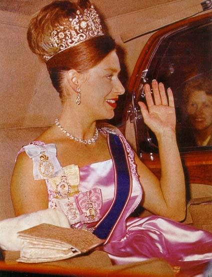 HRH The Princess Margaret:  LOVE this tiara!