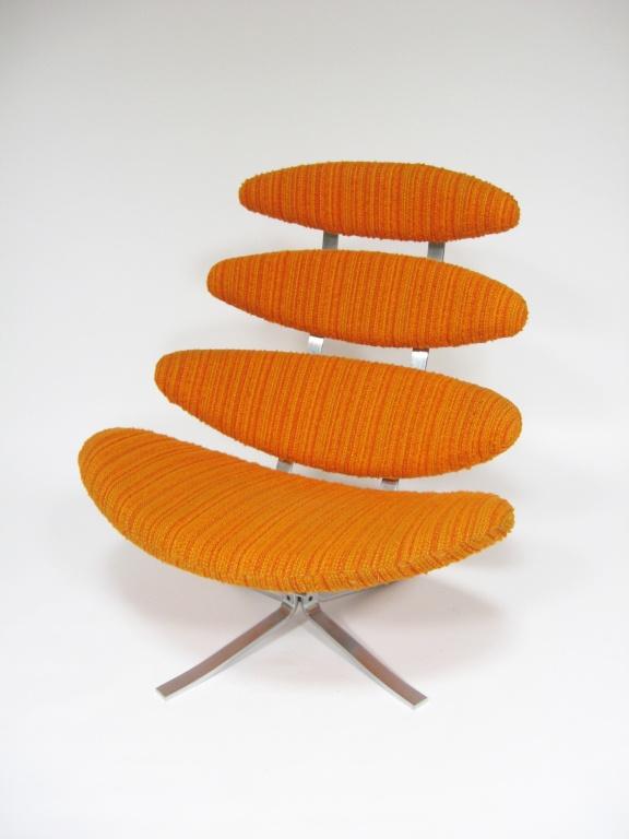 Paul Volther Corona chair by Erik Jorgenen  #Chair #Erik_Jorgenen #Danish_Modern