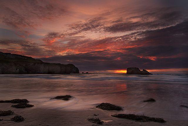 Perranporth sunset - Cornwall