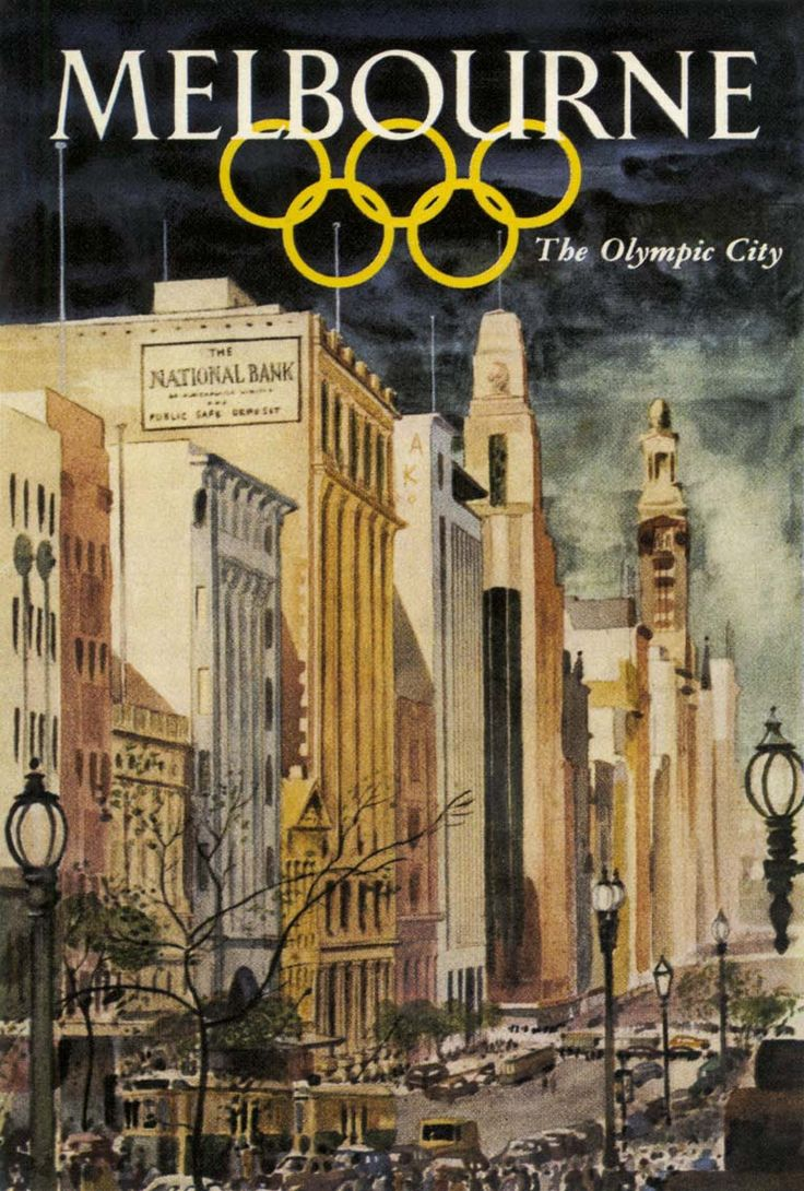 "Melbourne ""Olympic games"" -"