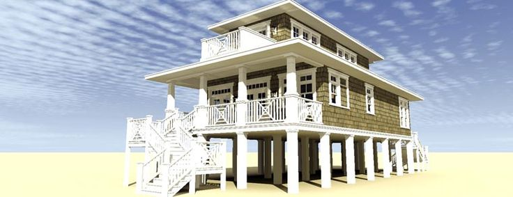 91 best images about coastal house plans on pinterest for Coastal craftsman house plans