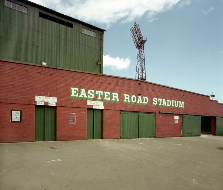 North Stand Entrance of Easter Road