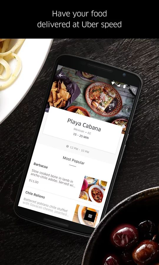 UberEATS: Faster Delivery- screenshot