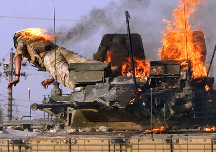 <b>War photographers tell the shocking, sad, and scary stories behind the images they captured during the Iraq War.</b>