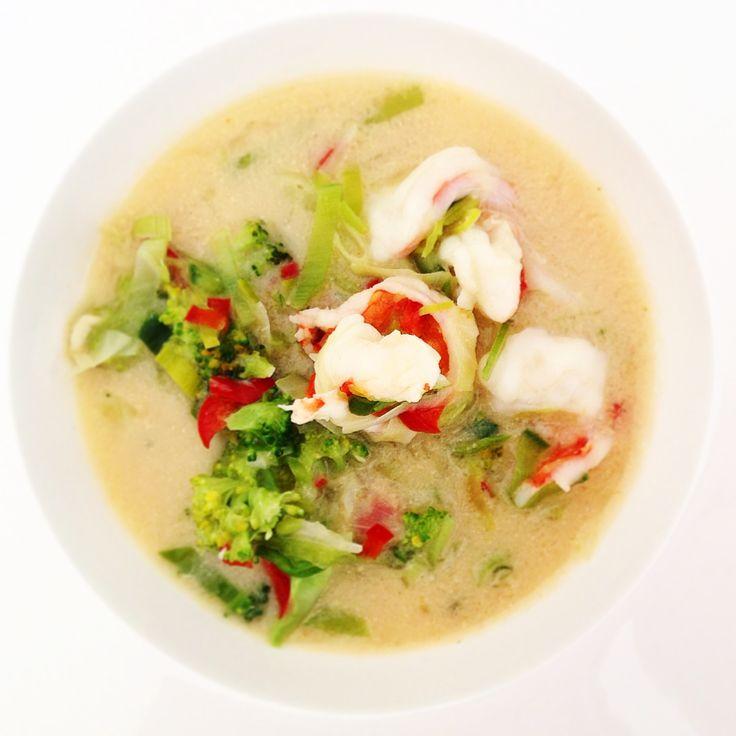 Kokos-Curry-Garnele