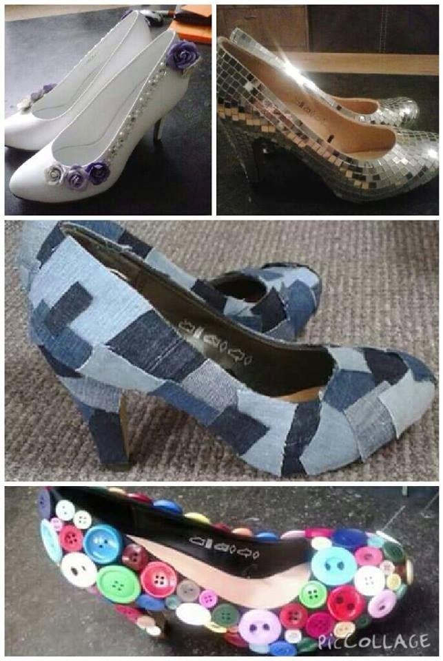 Toffe gepimpte schoenen van de action - creatief met action - bespaarmama